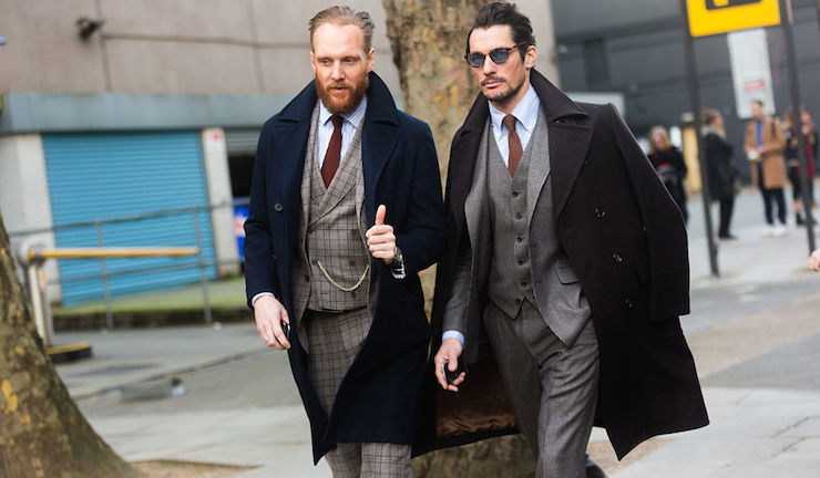 Street Style: Day 1 - London Collections: Men AW15