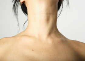 neck collarbone brown fat