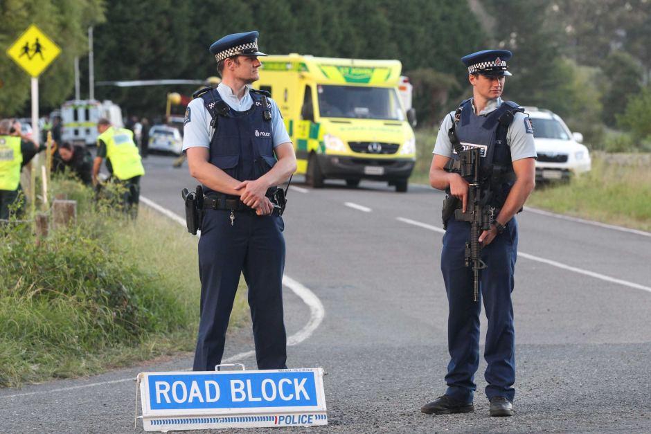 New Zealand standoff