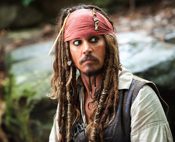 Johnny Depp has taken a wry swipe at Barnaby Joyce.