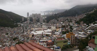 Favelas have been a controversial part of the build up. Photo: ABC