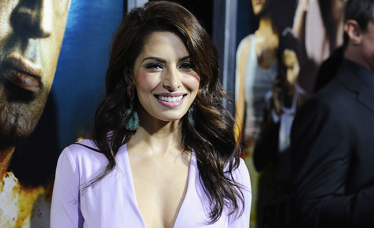 American actress Sarah Shahi was chosen to play detective Nancy Drew in a CBS tele-movie. Photo: Getty