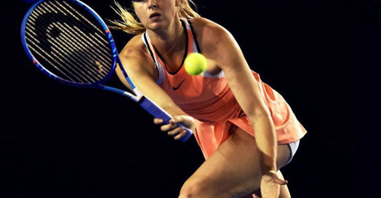 Sharapova has been dumped by Nike for the time being.