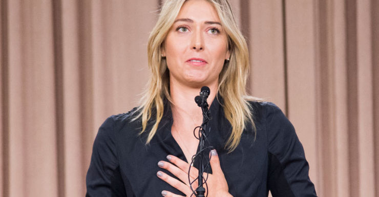 Maria Sharapova drugs