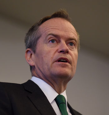 Mr Shorten said the prime minister was in 'full panic mode'.