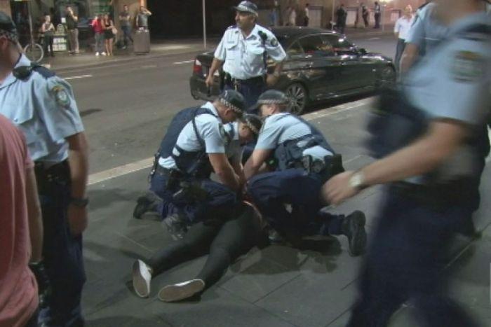 sydney violence