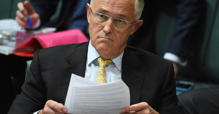 Mr Turnbull may have missed pulling the trigger on a double dissolution poll.