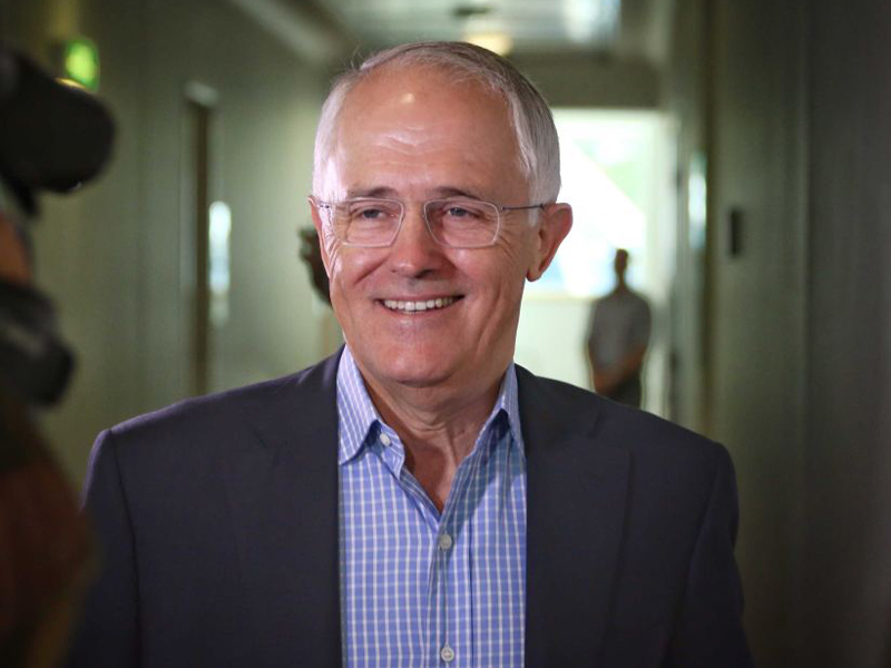Malcolm Turnbull was questioned about the timing of the budget.