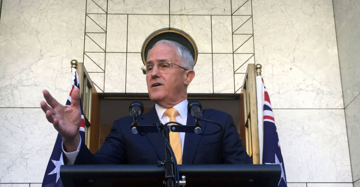 Mr Turnbull said the move is needed to break the deadlock in the Senate.