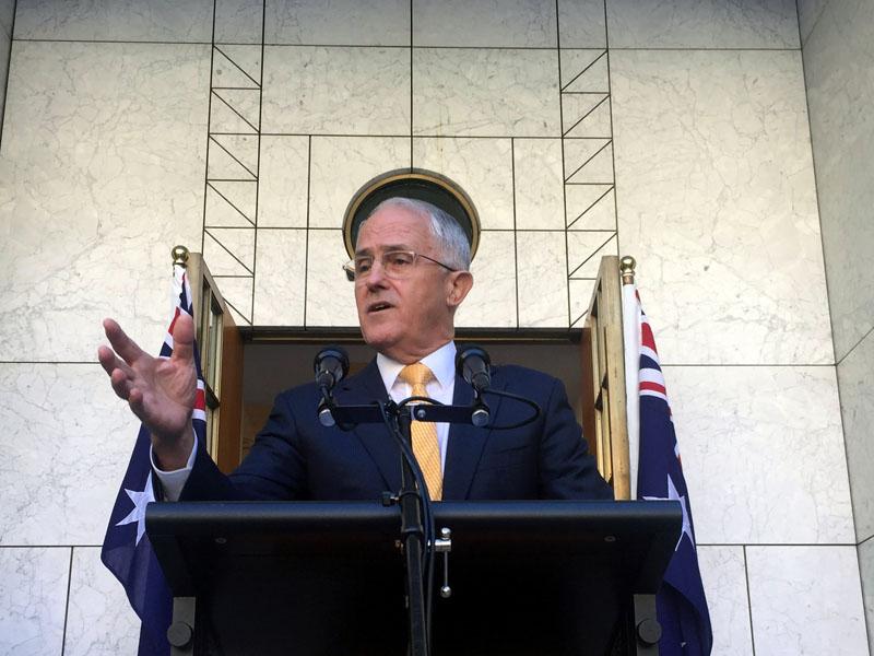 Mr Turnbull said the move is needed to break the deadlock in the Senate.