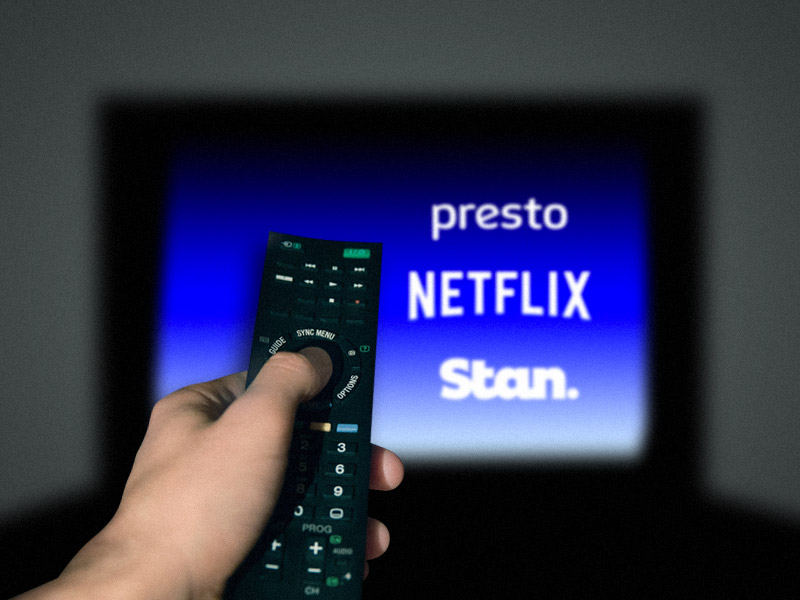 Streaming Netflix Stan and Presto
