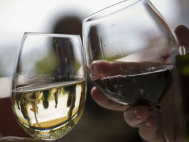 Don't worry about how you hold your wine, unless you're a very slow drinker. Photo: Getty