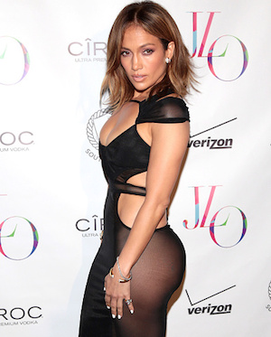 While often hailed as a 'curvy' icon, Jennifer Lopez is tiny and toned in person.