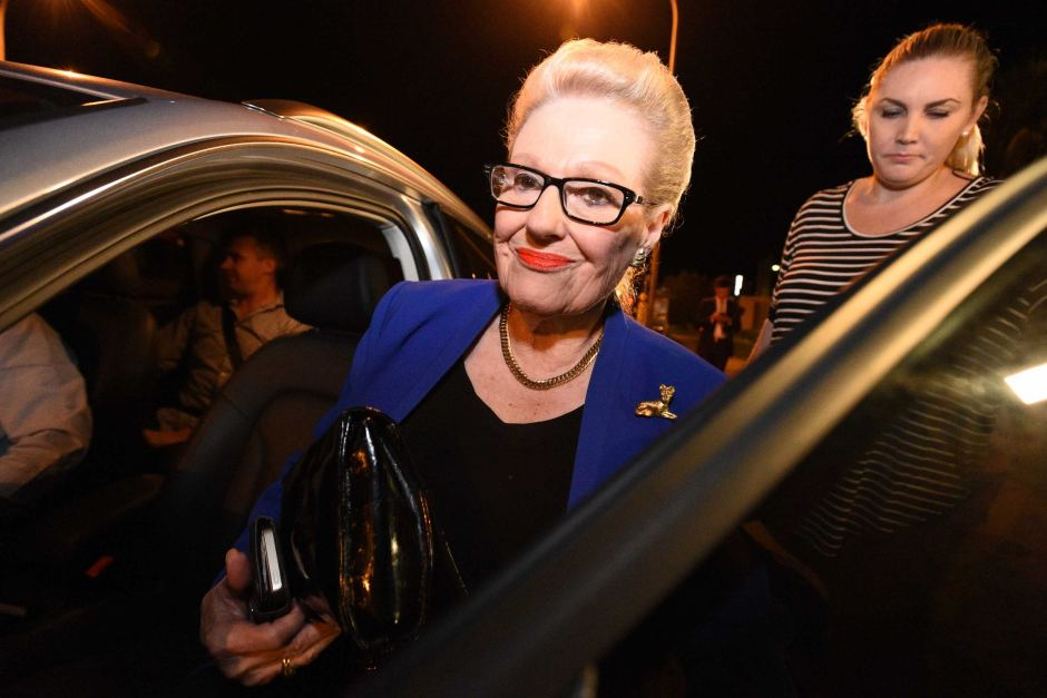 Bronwyn Bishop was a high-profile casualty of a travel expense scandal.