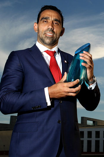 Goodes' Australian of the Year nod saw him draw even more criticism. Photo: Getty