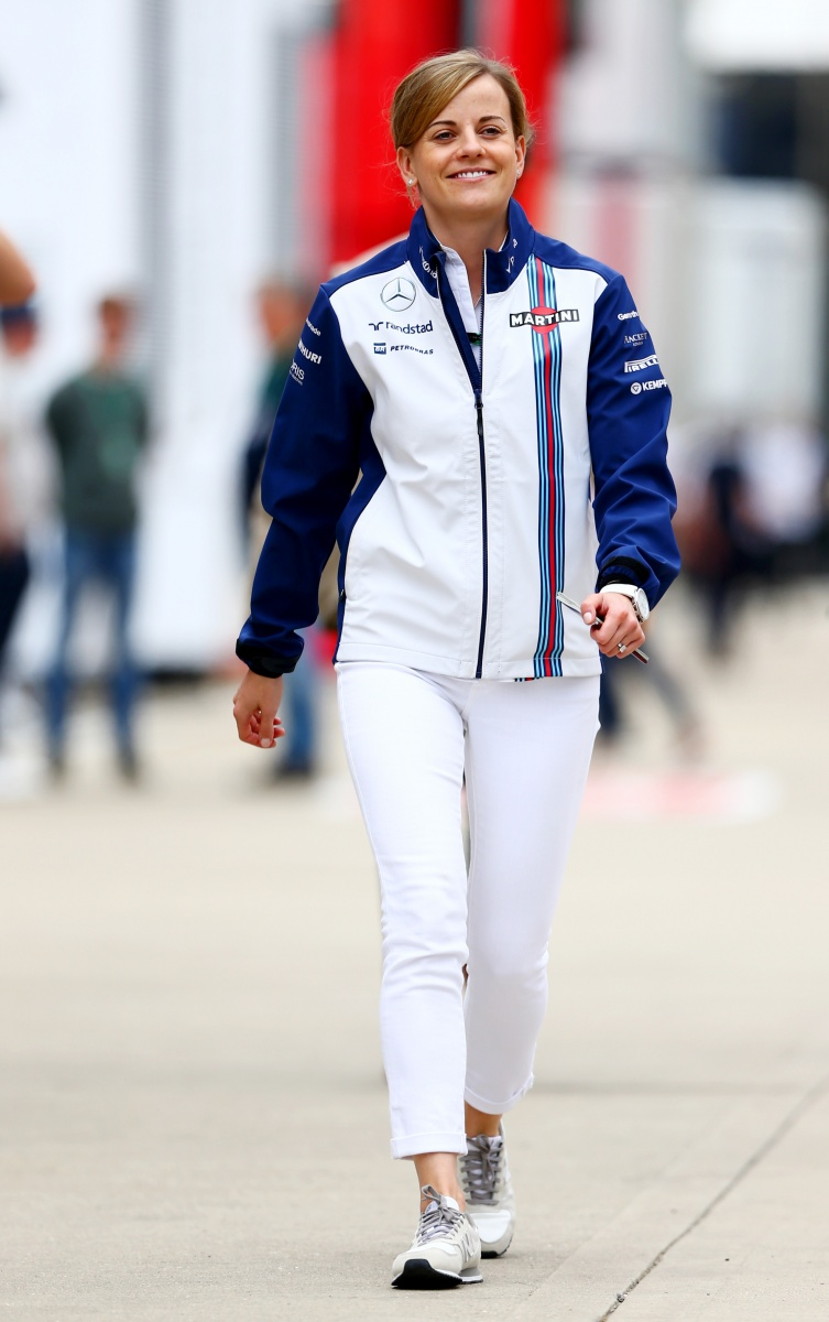 Susie Wolff was a pioneer for women in F1. Photo: Getty