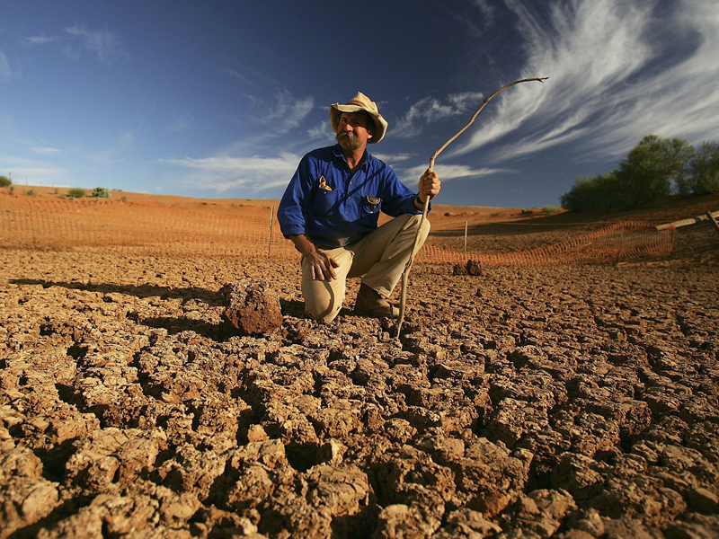 El Ninos cause drier conditions in Australia, leading to drought. Photo: Getty