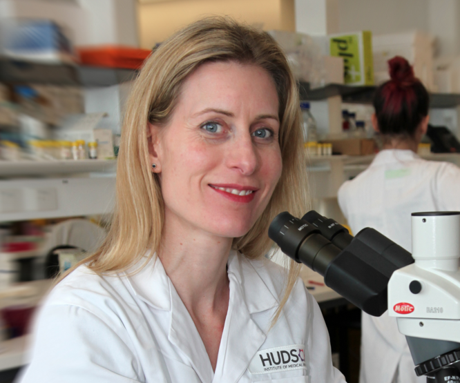 Dr Kristy Brown is investigating the link between obesity and breast cancer. Photo: Supplied