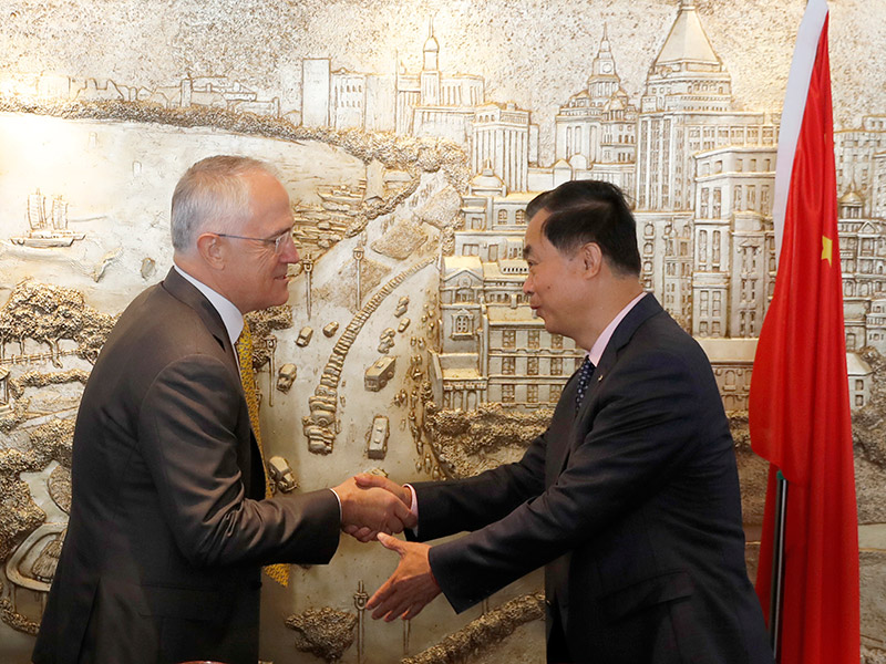 Turnbull urged to raise steel issue in China.