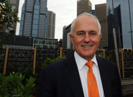 Turnbull election campaign