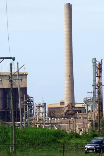 Queensland Nickel's Yabulu refinery. Photo: AAP