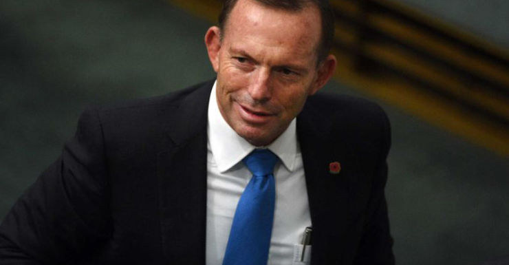 Mr Abbott has been in the political spotlight this week.