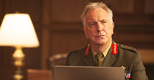 Lieutenant General Frank Benson (Alan Rickman) in a scene from EYE IN THE SKY, directed by Gavin Hood. In cinemas 24 March 2016. An Entertainment One Films release. For more information contact Claire Fromm: cfromm@entonegroup.com