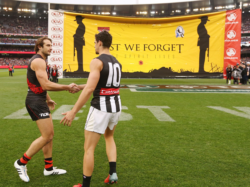 Anzac Day football