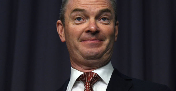 christopher pyne on tax cuts