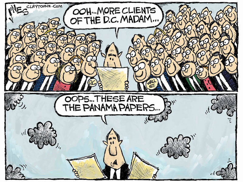 panama papers cartoon