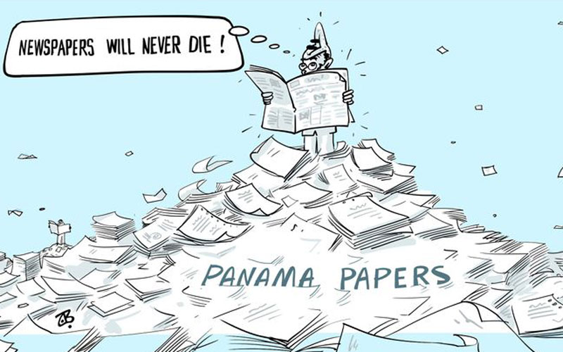 panama paper cartoon