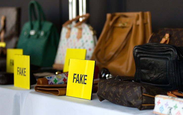 Luxury companies have been trying to fight the production of fakes for years. Photo: Getty