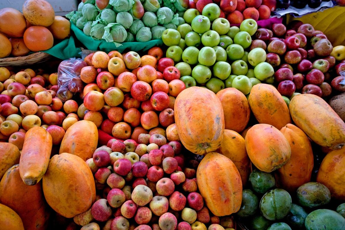 Most Australians do not eat enough fruit and vegetables.