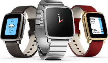 The Pebble Time Steel is