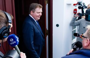 Iceland's PM resigns. Photo:AAP