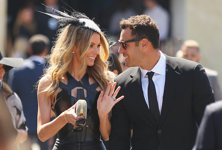 Jennifer and Jake Wall are husband and wife and business partners. Photo: Instagram