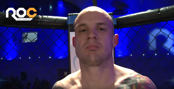 josh herdman cage fighter