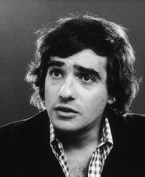 A young Scorsese in 1973. Photo: Getty