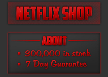 An online advertisement for stolen Netflix passwords found by Symantec.