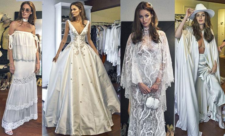 All of Trunfio's glamourous looks. Photos: Instagram/Harper's Bazaar