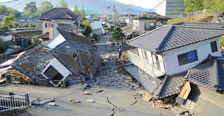 Japan earthquake 2016