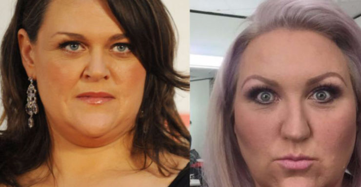 Chrissie Swan and Meshel Laurie say they are fat and happy.