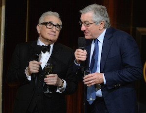 Scorsese and De Niro are still close friends. Photo: Getty