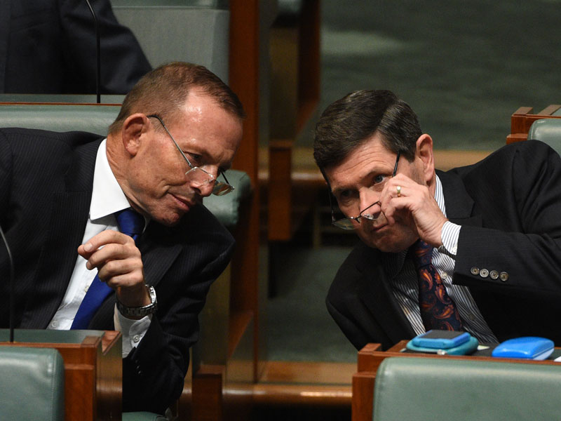 Tony Abbott and Kevin Andrews