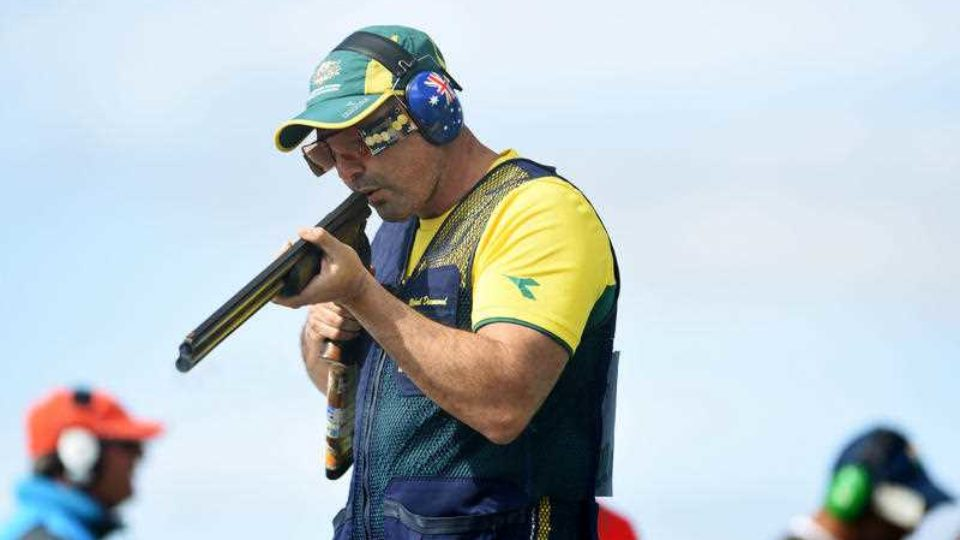 Veteran shooter Michael Diamond.