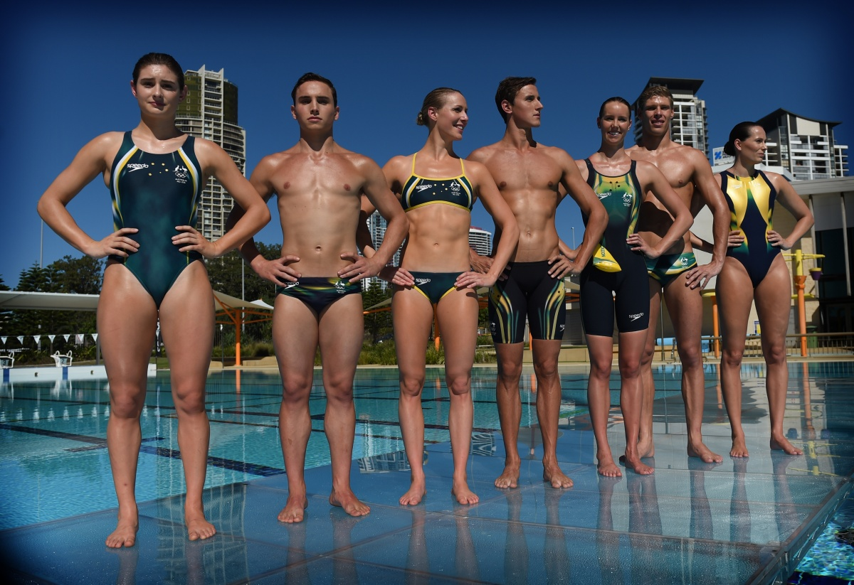 Australia's Rio togs feature an inspirational message sewn into the stitching.
