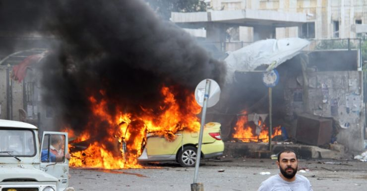 A bombing at a bus station in Tartus, Syria.