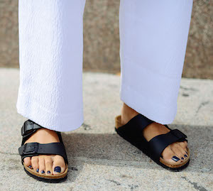 Birkenstocks are the way to go if you don't enjoy foot pain. Photo: Getty
