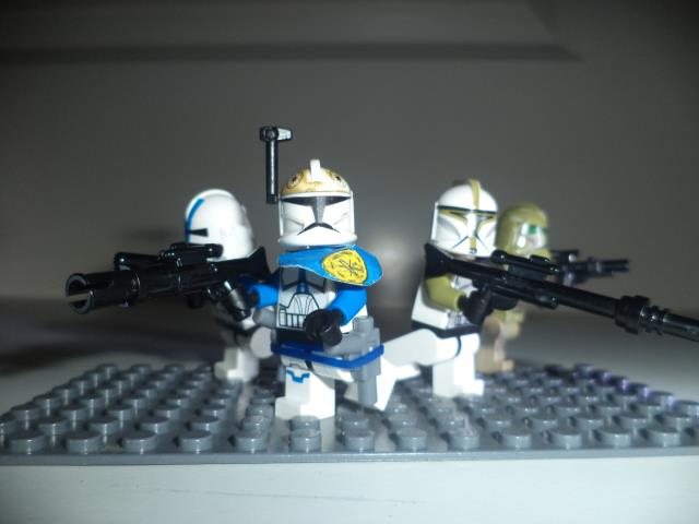 Lego's in in violence Star Wars