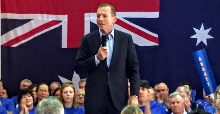 Abbott campaign launch
